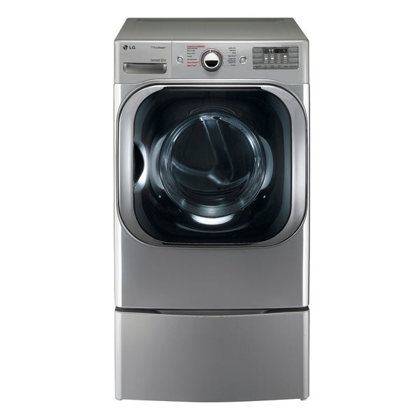 LG DLEX8100V 9.0 cu. ft. Mega Capacity Electric Dryer w/ Steam™ Technology in Graphite Steel
