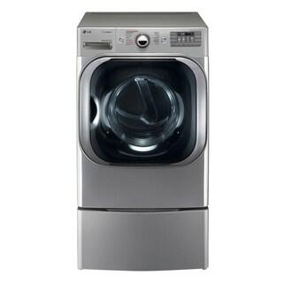 LG DLEX8100V 9.0 cu. ft. Mega Capacity Electric Dryer w/ Steam™ Technology in Graphite Steel