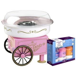 Nostalgia Vintage Collection Candy Cotton Candy Maker Bonus Holiday Kit