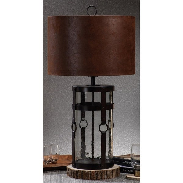 "34"" Tall Table Lamp, Corded Design"
