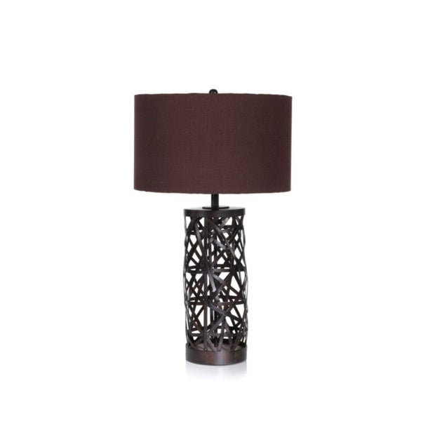"""32"""" Tall Table Lamp, Spider Design"""