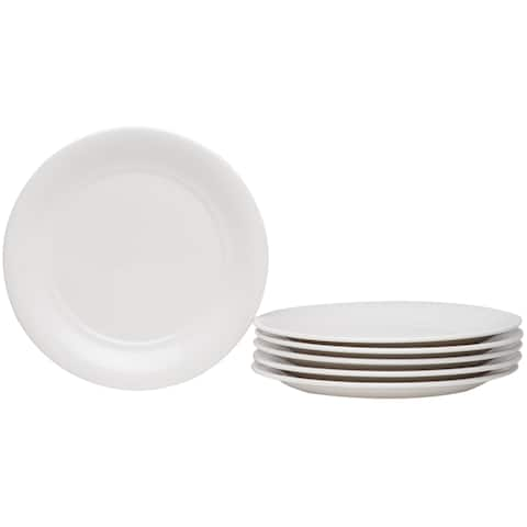 Hospitality White Bread & Butter Plate Set of 6