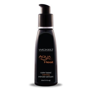 Wicked Aqua Heat 2-ounce Water-based Warming Lubricant