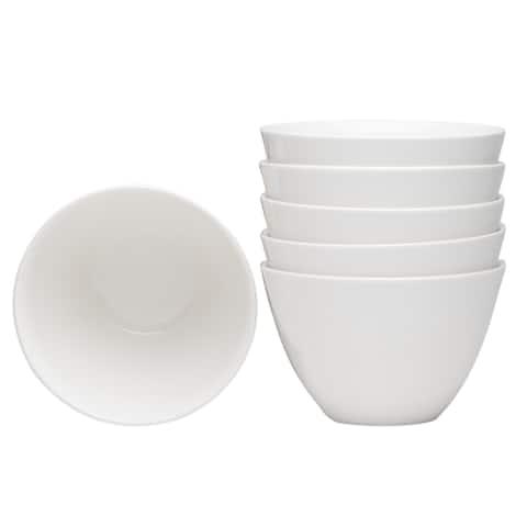 Hospitality White Coupe Bowl Set of 6