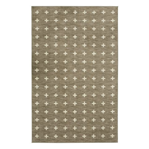 Mohawk Home Sahana Transitional Ornamental Area Rug