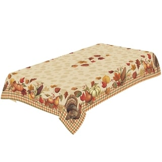 Laural Home Harvest Cheer Tablecloth