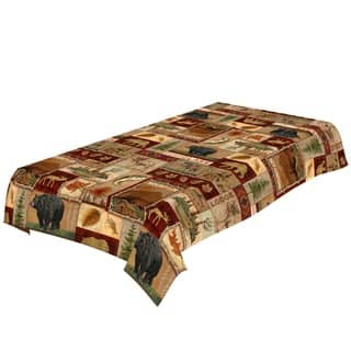 Laural Home Nature Collage Tablecloth|https://ak1.ostkcdn.com/images/products/17375083/P23615810.jpg?impolicy=medium
