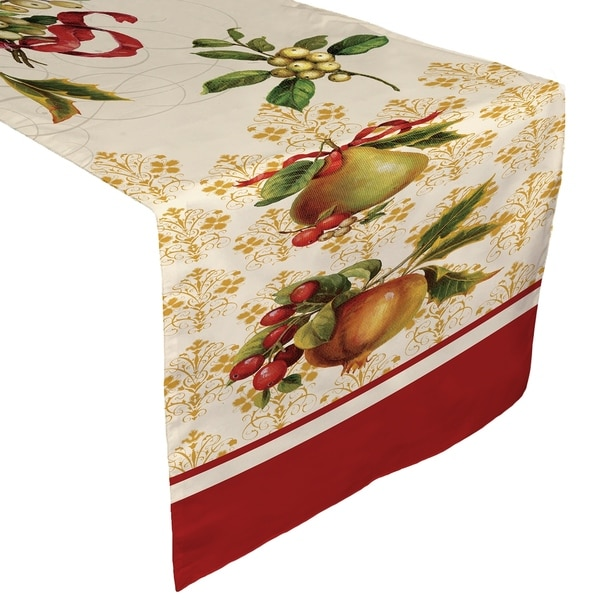 Laural Home Festive Harvest Table Runner