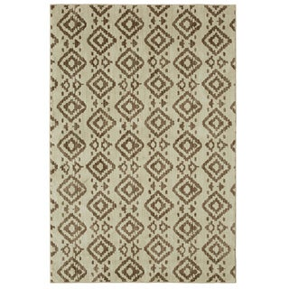 Mohawk Under The Canopy Tangier Beige Area Rug (5'3 x 7'10)