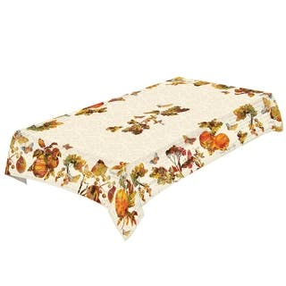Laural Home Majestic Autumn Tablecloth|https://ak1.ostkcdn.com/images/products/17375133/P23615821.jpg?impolicy=medium