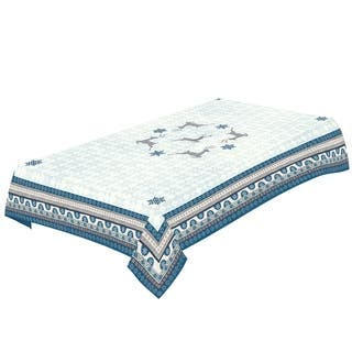 Laural Home Winter Wonderland Tablecloth|https://ak1.ostkcdn.com/images/products/17375136/P23615824.jpg?impolicy=medium
