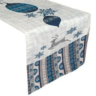 Laural Home Winter Wonderland Table Runner