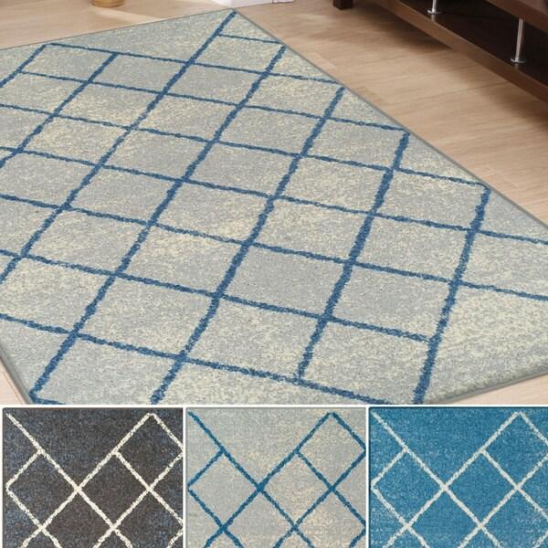 Superior Designer Lattice Area Rug (8' x 10')