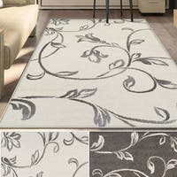 Superior Designer Vine Area Rug collection (5' X 8') - 5' x 8'