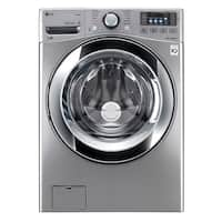 LG WM3670HVA 4.5 cu. ft. Ultra Large Capacity with Steam Technology in Graphite Steel