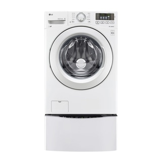 LG WM3180CW 4.5 cu. ft. Ultra Large Capacity Front Load Washer with ColdWash™ Technology in White