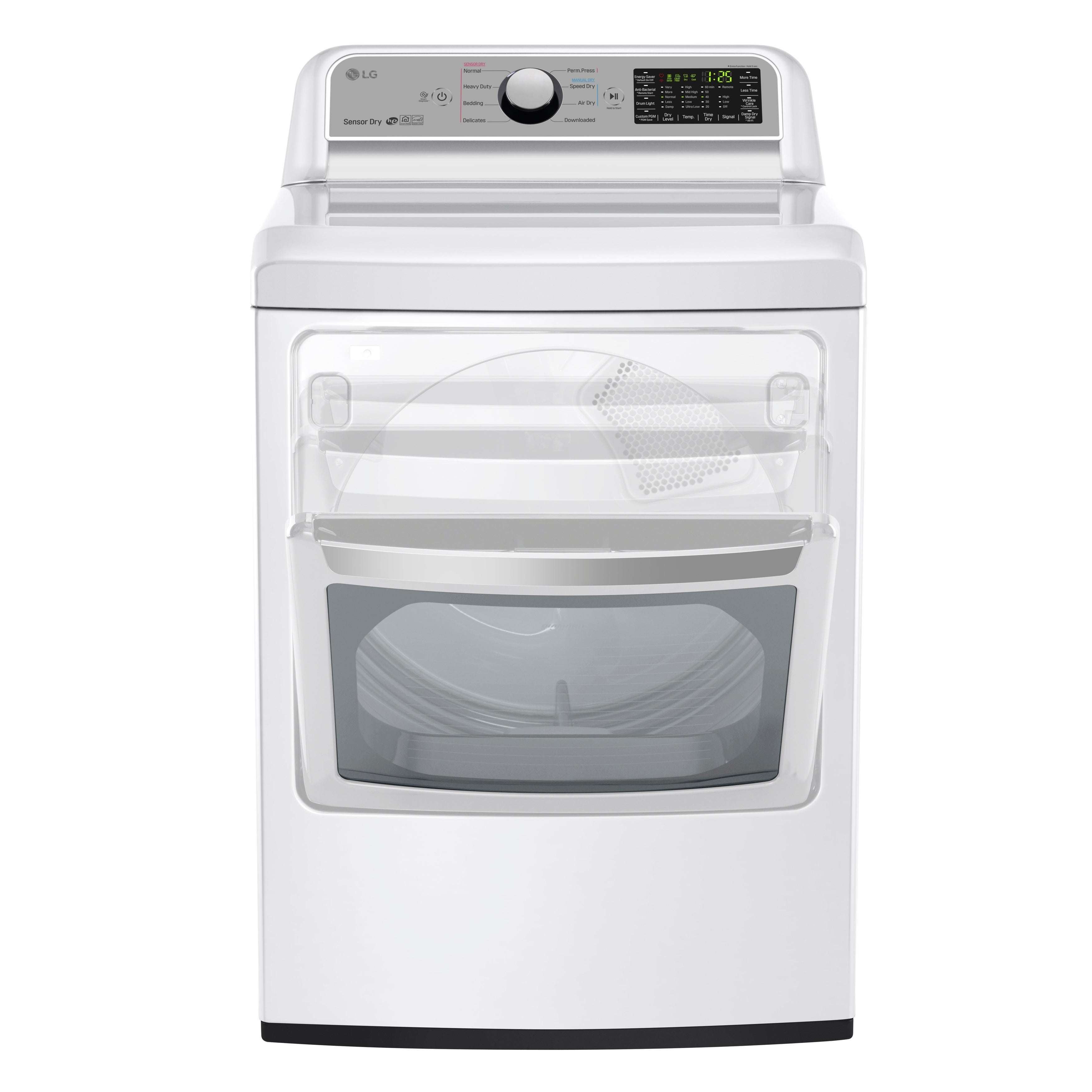 LG DLG7201WE 7.3 cu. ft. Super Capacity Gas Dryer with Se...