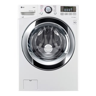 LG WM3670HWA 4.5 cu. ft. Ultra Large Capacity with Steam Technology in White