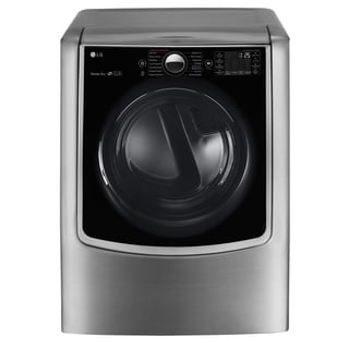 LG DLEX9000V 9.0 cu.ft. Mega Capacity TurboSteam Electric Dryer w/ On-Door Control Panel in Graphite Steel