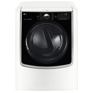 LG DLEX9000W 9.0 cu.ft. Mega Capacity TurboSteam Electric Dryer w/ On-Door Control Panel in White
