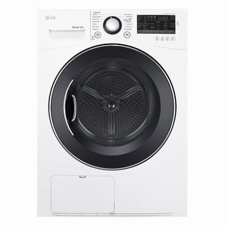 LG DLEC888W 4.2 cu.ft. Compact Electric Condensing Front Load Dryer in White