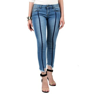 Xehar Women's Casual Stylish Skinny Denim Jeans (Option: 25)