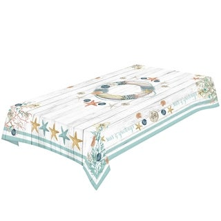 Laural Home Christmas by the Sea Tablecloth