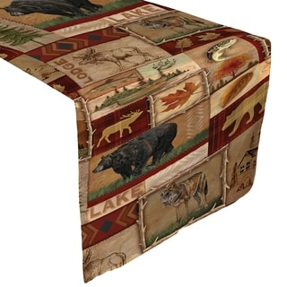 Laural Home Nature Collage Table Runner