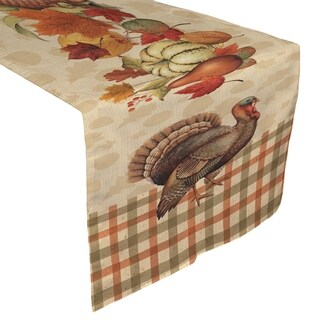 Laural Home Harvest Cheer Table Runner