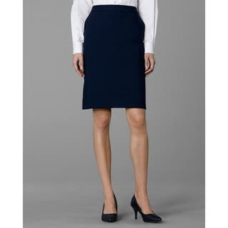 Twin Hill Women's Hudson Skirt Navy (Option: 6)|https://ak1.ostkcdn.com/images/products/17375297/P23615963.jpg?impolicy=medium