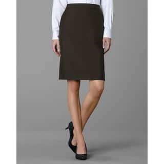Twin Hill Women's Hudson Skirt Chocolate|https://ak1.ostkcdn.com/images/products/17375303/P23615964.jpg?impolicy=medium