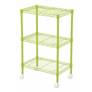 IRIS 3-tier Wire Shelf with Casters