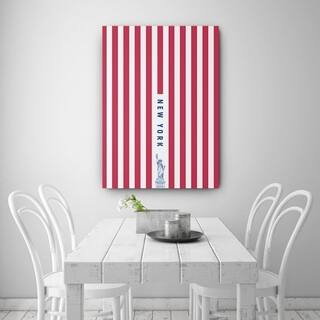 Mod Made 'See you again New York' Canvas Wrapped Wall Art