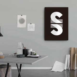 Mod Made 'Super' Canvas Wrapped Wall Art