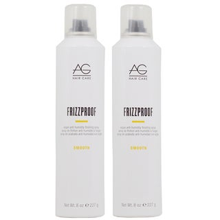 AG Hair Smooth Frizzproof 8-ounce Finishing Spray (Pack of 2)