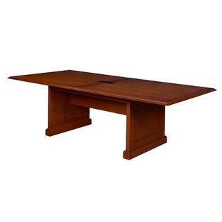 "Prestige 120"" Conference Table with Power- Cherry"