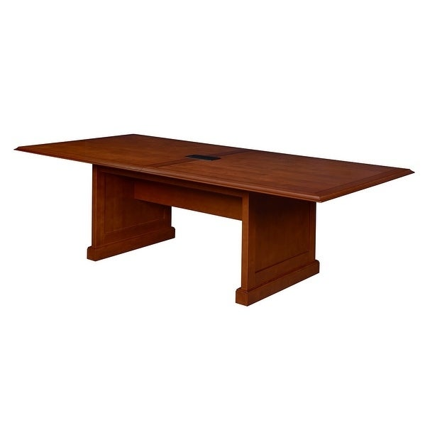 Shop Prestige Conference Table With Power Cherry On Sale - Cherry conference room table
