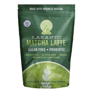 Lakanto Sugar Free Probiotic 10-ounce Matcha Latte