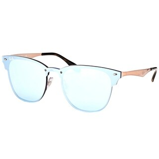 Ray-Ban Clubmaster RB3576N90391U Copper Frame Silver Mirror Sunglasses