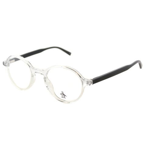 Original Penguin Round The Mungarutal CR Crystal Frame Eyeglasses