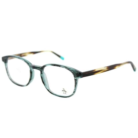 Original Penguin Rectangle The Steward DN Faded Denim Frame Eyeglasses