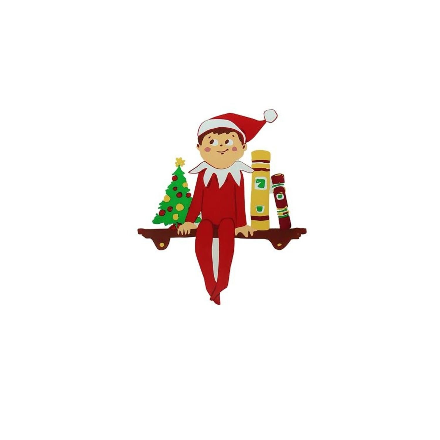 "Product Works 5.75"" The Elf on the Shelf Jelz Christmas W..."