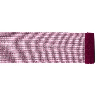 "Extra Wide Mesh Magenta Pink Sparkle Tinsel Christmas Ribbon 6"" x 4 Yards"