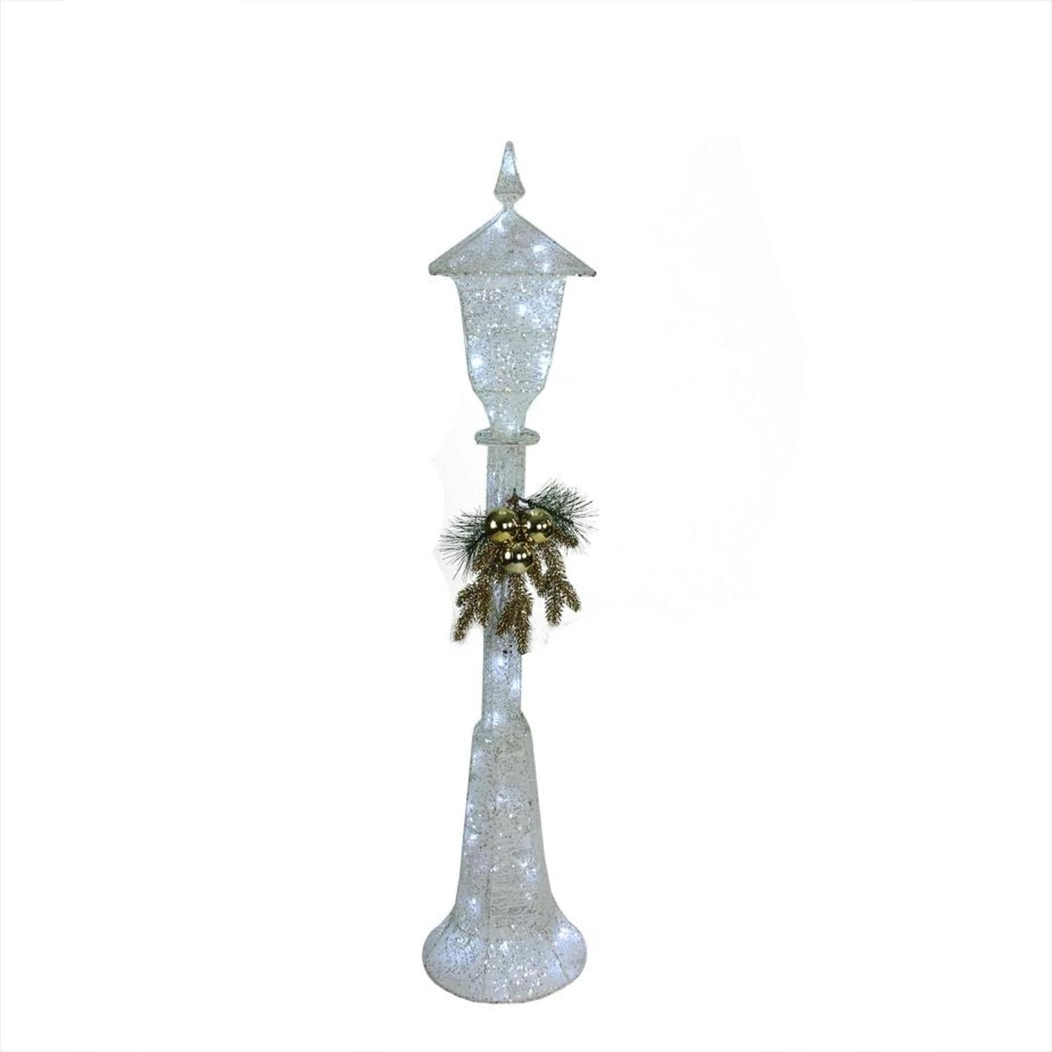 """48"""" LED Lighted Indoor/Outdoor Lamp Post Christmas Decora..."""