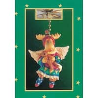 Club Pack of 144 Christmas Moose Ceiling Light Fan Pulls