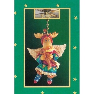 Club Pack of 144 Christmas Moose Ceiling Light Fan Pulls