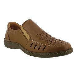 Men's Spring Step Davide Woven Loafer Natural Leather