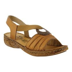 Women's Spring Step Karmel Slingback Camel Leather