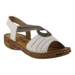 Women's Spring Step Karmel Slingback White Leather