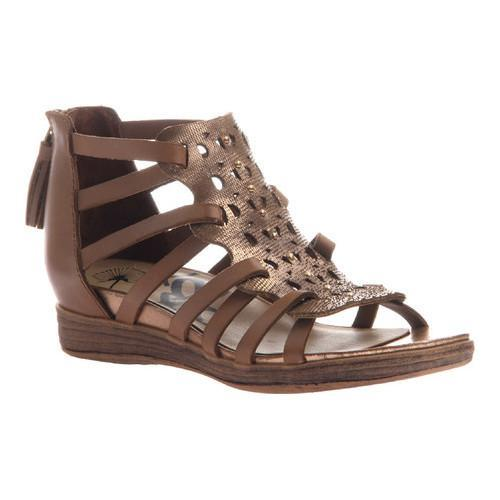 Women's OTBT Bonitas Caged Sandal Copper Leather